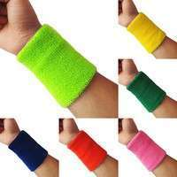 XKrl-Popular Unisex Sport Accessories Wrist Sweatband Tennis Squash Badminton GYM Basketball Wristband Wrist Protector