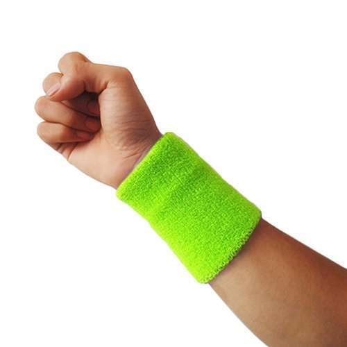 Popular Unisex Sport accessories Wrist Sweatband Tennis Squash Badminton GYM Basketball Wristband wrist protector-11