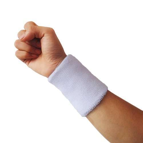 Popular Unisex Sport accessories Wrist Sweatband Tennis Squash Badminton GYM Basketball Wristband wrist protector-14