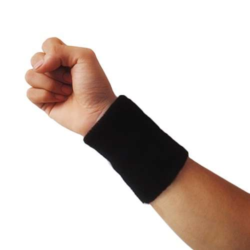 Popular Unisex Sport accessories Wrist Sweatband Tennis Squash Badminton GYM Basketball Wristband wrist protector-15