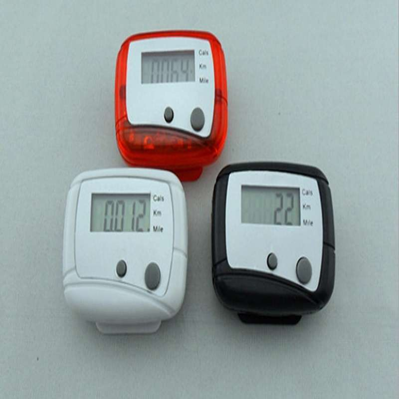 LCD Pedometer Step Walking Distance Calorie Counter