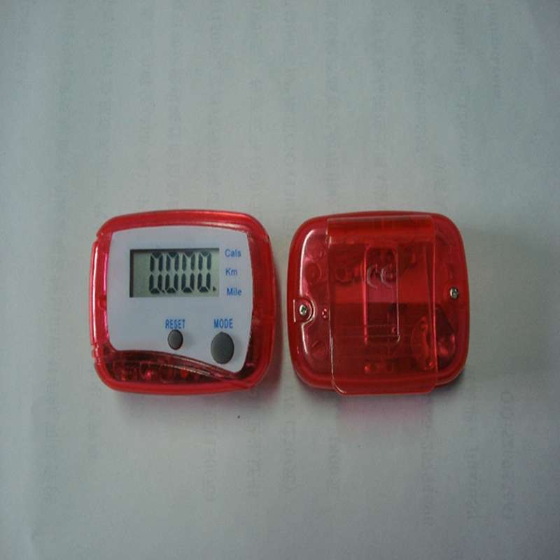 LCD Pedometer Step Walking Distance Calorie Counter-5