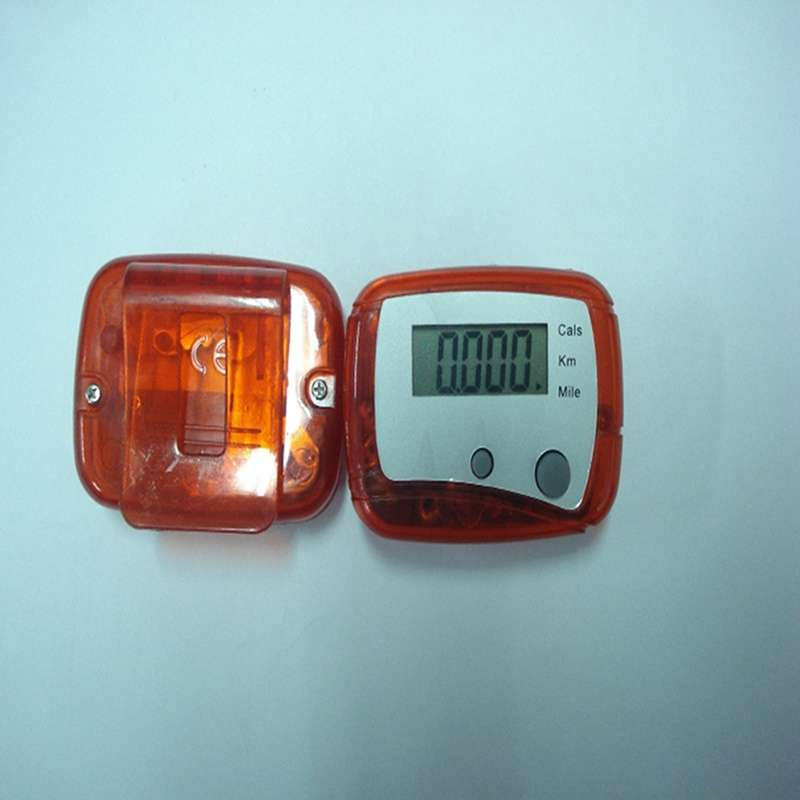 LCD Pedometer Step Walking Distance Calorie Counter-7