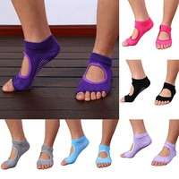 XNfl-Five Toes Exercise Yoga Anti-slip Pilates Socks 6 Colors