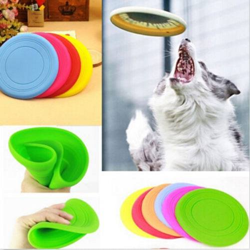 Large Pet Dog Flying Disc Tooth Resistant Training Fetch Toy Play Frisbee-1