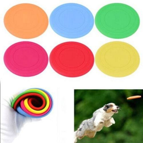 Large Pet Dog Flying Disc Tooth Resistant Training Fetch Toy Play Frisbee-2