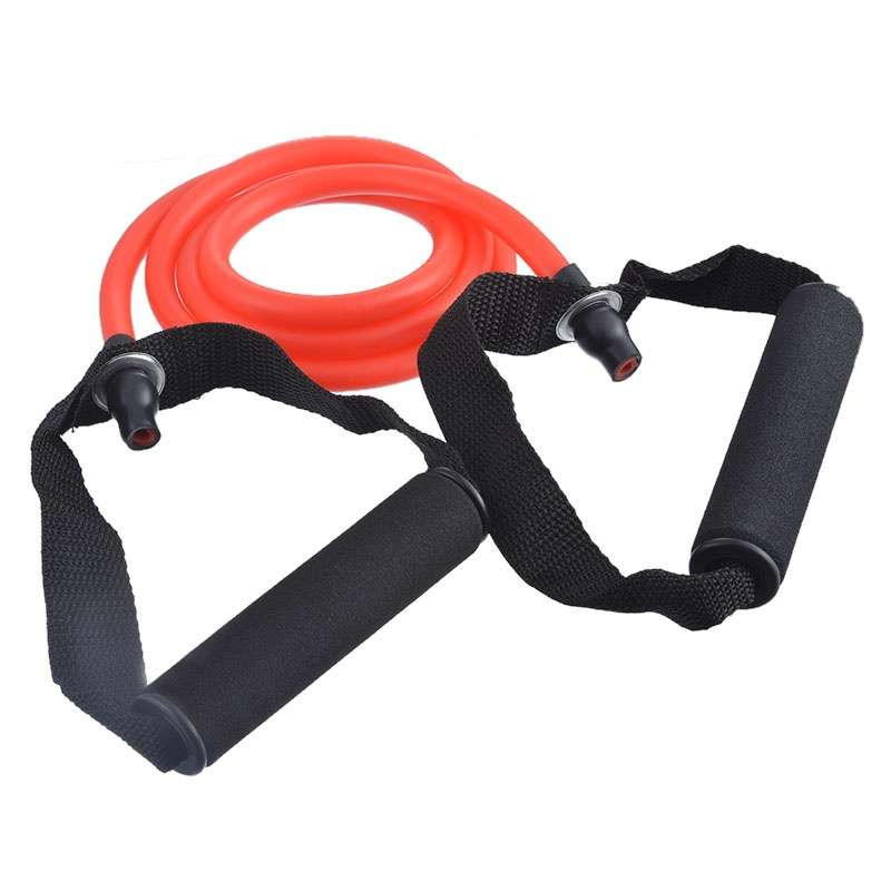 Word Tensile Rope Fitness Yoga Pull Rope Natural Latex Tube With Elastic Rope Chest Expander-10