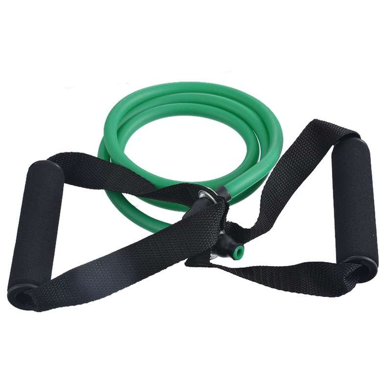 Word Tensile Rope Fitness Yoga Pull Rope Natural Latex Tube With Elastic Rope Chest Expander-9