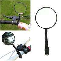 XrAw-Sports Bike Bicycle Cycling Durable Super Light Handlebar Mount Rear View Mirror