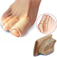 YCIA-1 Pair Orthopedics Bunions Foot Care Pedicure Silicon Pad Protection Toe Spreader Feet Care Tool