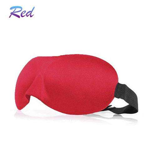 3D EYE MASK TRAVEL SLEEPING SOFT COVER SHADE BLINDFOLD SPONGE BLINDER EYE PATCH-3
