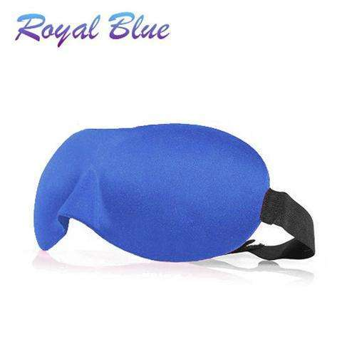 3D EYE MASK TRAVEL SLEEPING SOFT COVER SHADE BLINDFOLD SPONGE BLINDER EYE PATCH-5