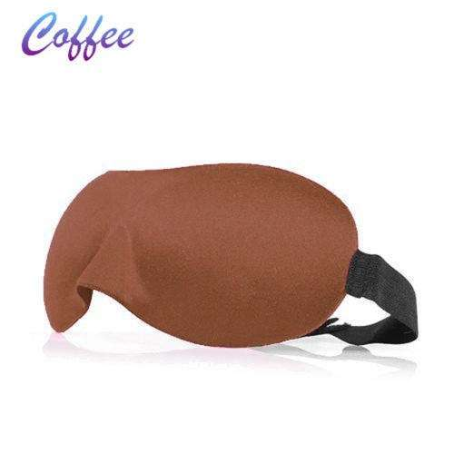 3D EYE MASK TRAVEL SLEEPING SOFT COVER SHADE BLINDFOLD SPONGE BLINDER EYE PATCH-7