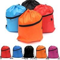 b30g-Fashion Drawstring School Gym Swim Beach Environmental Waterproof Bag Backpacks