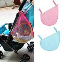 bEka-Baby Fashion Stroller Pushchairs Pram Basket Toys Diaper Net Mesh Storage