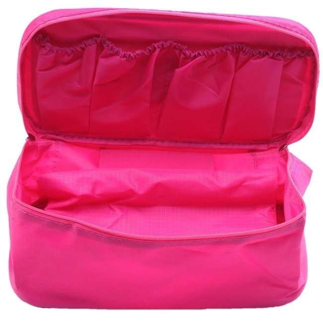 Waterproof Hygienic Travel Bag Underwear Pouch Bra Holder Storage Bag-2