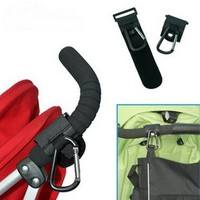 bYY3-Universal Stroller Pram Pushchair Clip Hooks Shopping Bag Stroller Holder