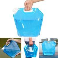 btsP-5L Portable Folding Water Storage Lifting Bag Camping Hiking Survival Kit Tool