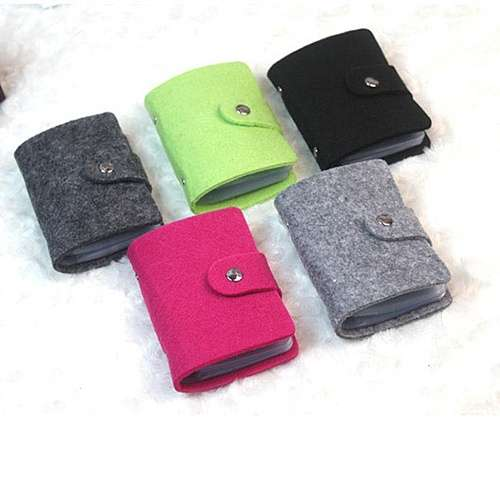 Women Pouch ID Credit Card Wallet Organizer Case Box Pocket Card Holder-2