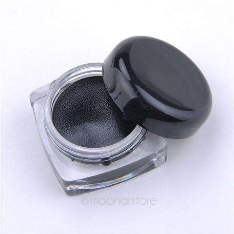 New 2014 Black Waterproof Eye Liner Eyeliner Gel Makeup Cosmetic + Brush Makeup-2