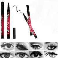 cjuS-Women Black Liquid Eyeliner Long-lasting Waterproof Eye Liner Pencil Pen Nice Makeup Cosmetic Tools Delineador