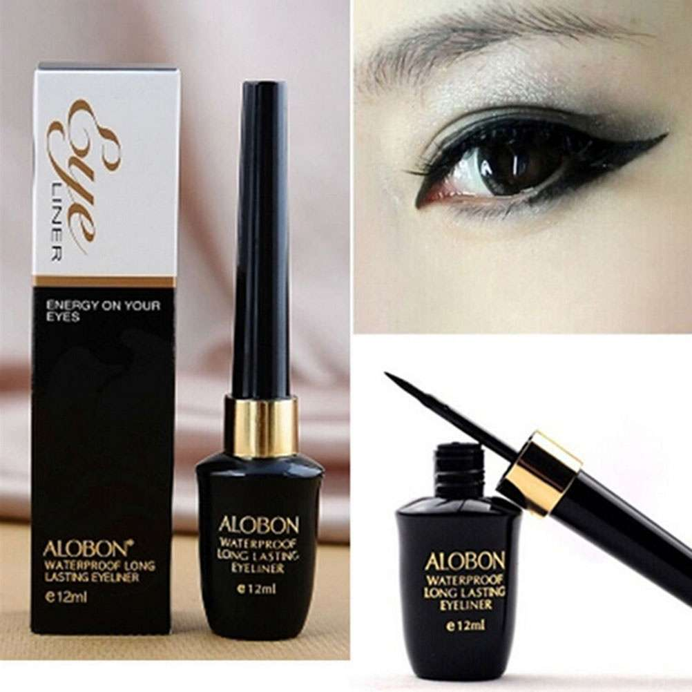 Waterproof Black Eyeliner Liquid Eye Liner Pen Pencil Makeup Beauty Cosmetic