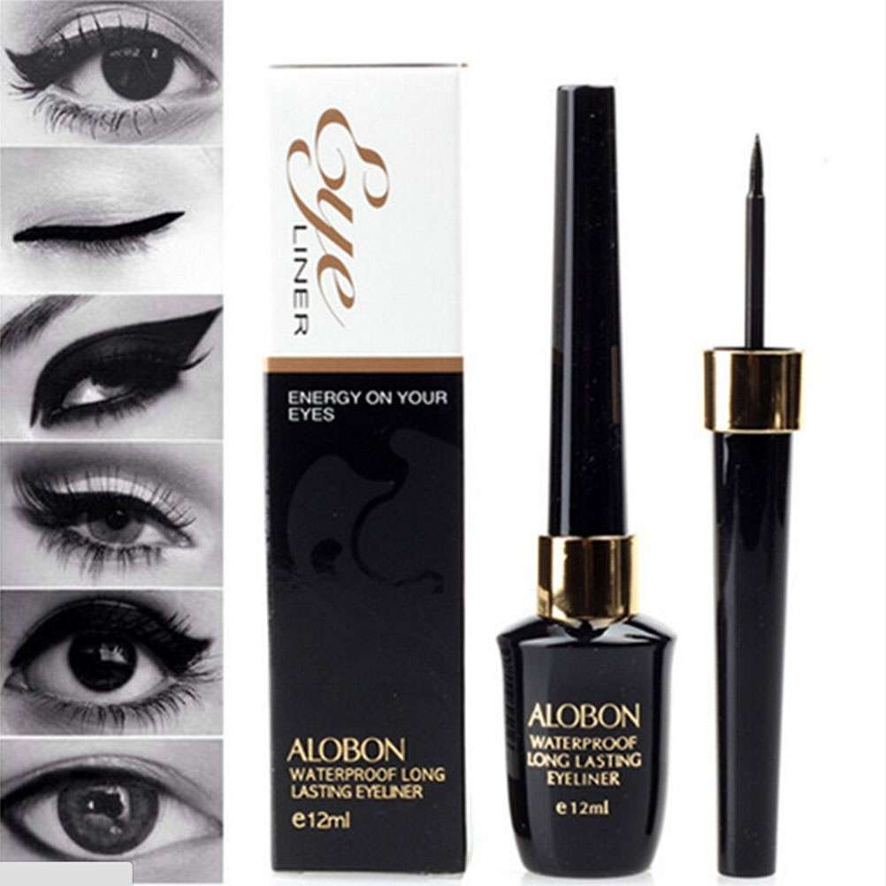 Waterproof Black Eyeliner Liquid Eye Liner Pen Pencil Makeup Beauty Cosmetic-1