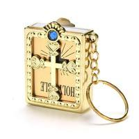 eyNC-Mini Keychain Key Chain English Bible