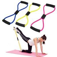 fX0J-Resistance Training Bands Tube Workout Exercise For Yoga Fashion Body Building Fitness Equipment