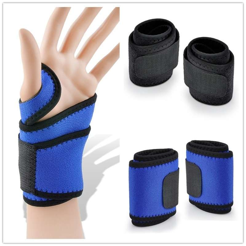 Wrist Guard Band Brace Support Carpal Tunnel Pain Wraps Bandage Fitness Wristbands