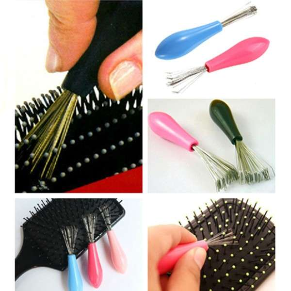 Durable Mini 1PC Hot Sales Comb Hair Brush Cleaner Embedded Tool Salon Home Essential-6