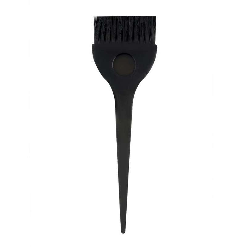 4pcs 1 Set Black Plastic Hair Dye Coloring Brush Comb Mixing Bowl Barber Salon Tint Hairdressing Styling Tools-3