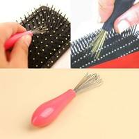 hWCH-Comb Hair Brush Cleaner Cleaning Remover Embedded Tool