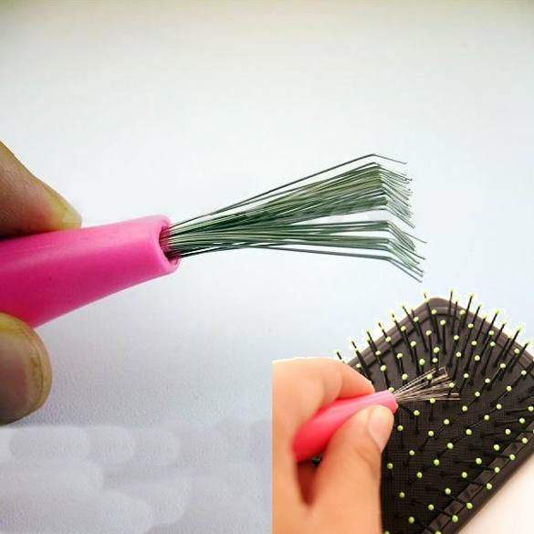 Comb Hair Brush Cleaner Cleaning Remover Embedded Tool-2