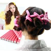 hYXk-Curler Makers Soft Foam Bendy Twist Curls Flex Rods Hair Rollers Curling Styling Tools
