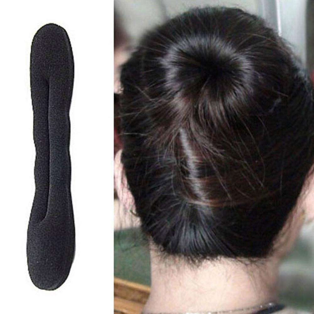 fashion hair bands Magic Foam Sponge Hair Tools Plate Donut Bun Maker Former Twist Tool Styling Fast delivery
