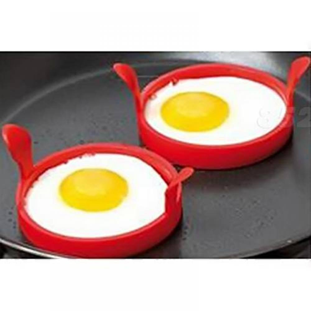 Gadget Oven Pancake Kitchen Tool Egg Mould Fried Ring Silicone Mold-1