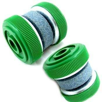 1 X Compact Round Easy-to-use Knife Sharpener Grinder Stones (Size: 35mm by 35mm)-5
