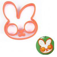 kIZb-Breakfast Shaper Fried Egg Mold Pancake Ring Rabbit Silicone