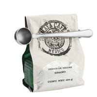 kJHE-Stainless Steel Coffee Scoop With Bag Clip
