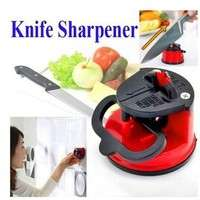 kKsR-Knife Sharpener Scissors Grinder Secure Suction Chef Kitchen Sharpening Tool( Color Random)