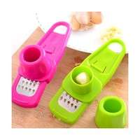 kMtH-New Ginger Garlic Crusher Peeler Mincer Stirrer Presser Slicer Good Kitchen Tool