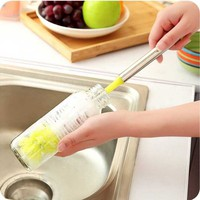 kNbZ-Long Bottle Cleaning Brush Home Brew Long Handle Scrubbing Washing Tool
