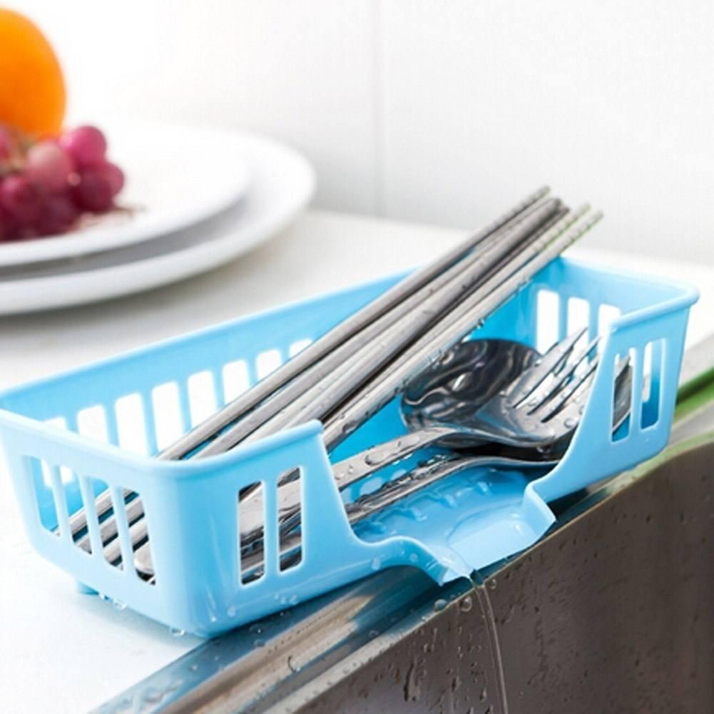 Multi Functional Kitchen Sink Storage Basket Creative Dish Washing ...