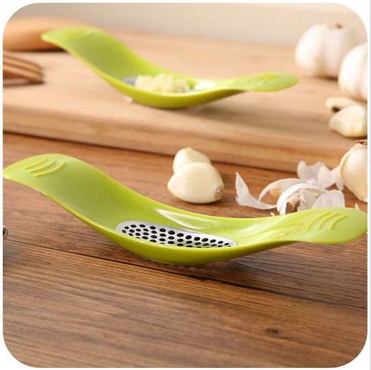 Garlic Press Garlic Crusher Cutter Cooking Tool Kitchen Knife Accessories-2