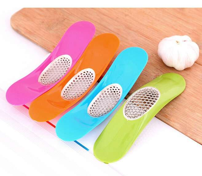 Garlic Press Garlic Crusher Cutter Cooking Tool Kitchen Knife Accessories-6