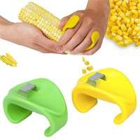ki1U-Practical Corn Stripper Peeler Thresher Kitchen Tool Cutter Stripper Remover