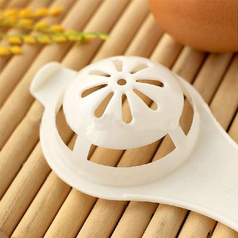 Kitchen Egg White Diy Separator Holder Sieve Funny Dividerx Kitchen Tool-3