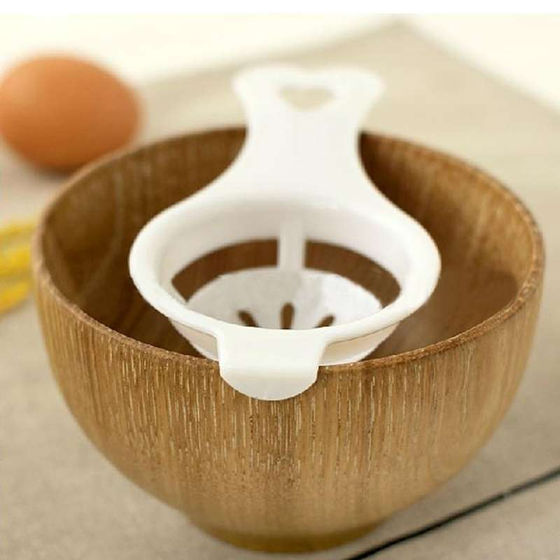 Kitchen Egg White Diy Separator Holder Sieve Funny Dividerx Kitchen Tool-4