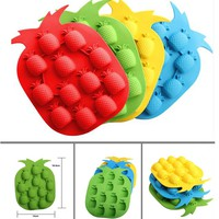 kqgr-Bar Party Drink Ice Tray Pineapple Shape Ice Cube Freeze Mold Ice Maker Mold